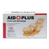 96 of 100 Count bandage Assorted shapes