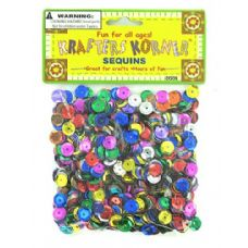 72 of Assorted colors sequins