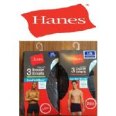 24 of HANES 3 PACK MEN'S BOXER BRIEFS - ( SLIGHTLY IMPERFECT