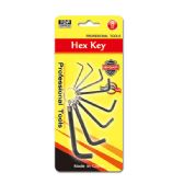 96 of 8 Piece hex key set
