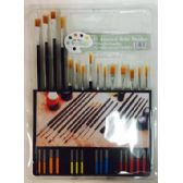 24 of Art Brush Set assorted size