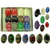 36 of Oval acrylic on acrylic bands Rings