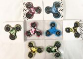 36 of Wholesale Camo Printed Fidget Spinners Assorted