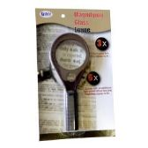 48 of Handheld 3X Magnifying Glass with 6X Bifocal Lens