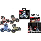 24 of Camo Assorted Graphic Spinners