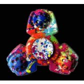 24 of Multicolor Spinners for Small Hands