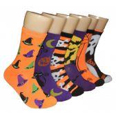 360 of Women's Halloween Crew Socks