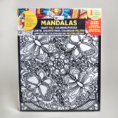48 of Coloring Poster 16 X 20 Felt Mandalas 6 Assorted