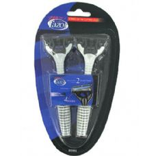 72 of Men's quadruple blade disposable razors