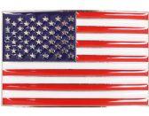 24 of USA Flag Belt Buckle