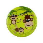 108 of Small Monkeys Party Plates Set