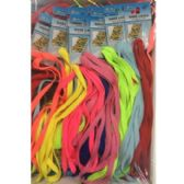 72 of ASSORTED COLOR SHOELACES
