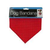 72 of Printed Dog Bandana with Snap Closure