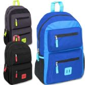 24 of 18 Inch Double Pocket Backpack - Boys