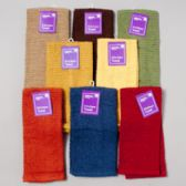 72 of Kitchen Towel 15 X 25 Assorted Colors