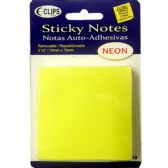 48 of 3 Pack Sticky notes, 50 sheets each