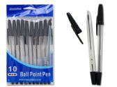144 of 10 Pack Family Maid Black Ballpoint Pens