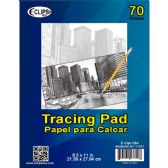 36 of Tracing pad, 8.5x11, 70 sheets