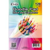 """36 of 6"""" X 9"""" Doodle Pad - 120 Sheets"""