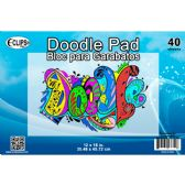 """36 of 12"""" x 18"""" Doodle Pad - 40 Sheets"""