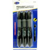 48 of Permanent Markers with Comfort Grip - Black
