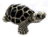 10 of Turtle shaped jewelry holder made of metal alloy