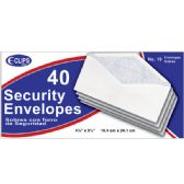 48 of Security Envelopes, # 10, 40 Ct.