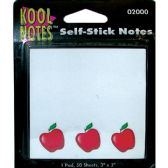 36 of APPLE Self Stick Notepad 3x5 50 sheets