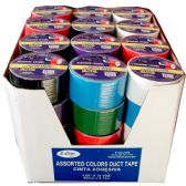 "48 of Duct Tape, Assorted Colors, 1.89"" x10 Yds"