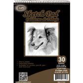 "36 of 30 Sheet Sketch Pad - 5.75"" X 8.25"""
