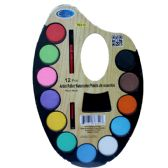 48 of Artist Water Color Pallet, 12 Colors, Paint Brush
