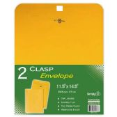 "96 of Clasp envelopes 11.5x14.5""/2 count"