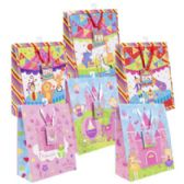 72 of Gift Bag Lg Circus/princess 6asst 10 X 12.5 X 5in