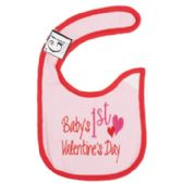144 of First Valentine's Day Baby Bib