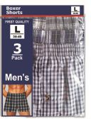 48 of New Mens Boxer Assorted Size