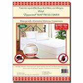 24 of Zipped mattress cover Queen
