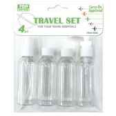 72 of Four Piece Travel Set