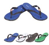 36 of Men's Flip Flops--SPORTS with Flag
