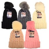 24 of Winter Hat Pom Pom Knit Ladies