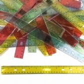 240 of 12 Inch Translucent Rulers