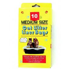 72 of 10 Pack litter box liner bags