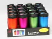 16 of Travel Mug 16 oz Assorted colors