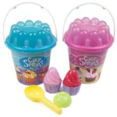 24 of Beach Play Pail Set Cupcake