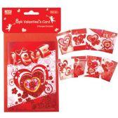 48 of V-day mini card 8 Pack