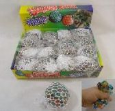 72 of MESH SQUISH BALL WITH WATER BEADS
