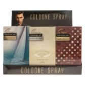 6 of 12 piece Counter Top Display 4 each of 3 fragrances For Men Our Version Of Acqua Di Gio, Carolina Herrera, Nautica
