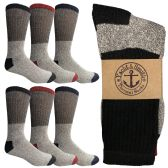 60 of Yacht & Smith Men's Winter Thermal Socks Size 10-13