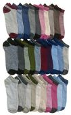 30 of Yacht & Smith Womens 9-11 No Show Ankle Socks Assorted Prints, Pastels