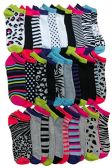 30 of Yacht & Smith Womens 9-11 No Show Ankle Socks Assorted Prints, Mix Animal Prints