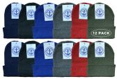 12 of Yacht & Smith Kids Winter Beanie Hat Assorted Colors